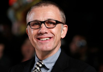 Actor Christoph Waltz attends the UK premiere of Django Unchained in central London